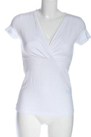 Esprit Schlupf-Bluse weiß Elegant