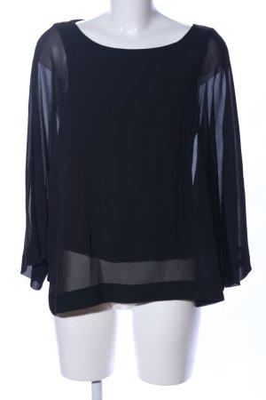 Esprit Blusa caída negro elegante