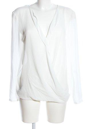 Esprit Schlupf-Bluse weiß Casual-Look