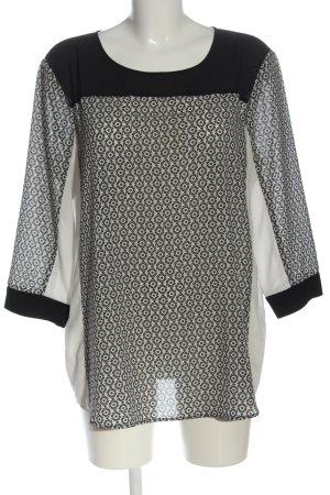 Esprit Schlupf-Bluse grafisches Muster Casual-Look