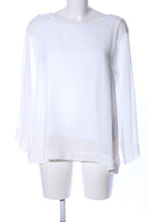 Esprit Blusa caída blanco look casual