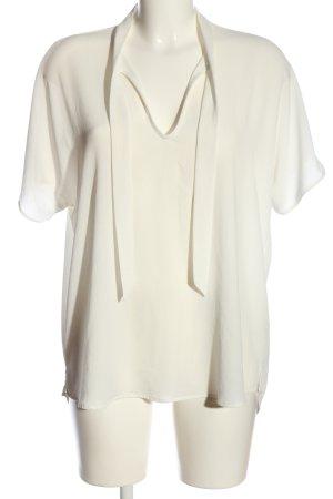 Esprit Slip-over blouse wit zakelijke stijl