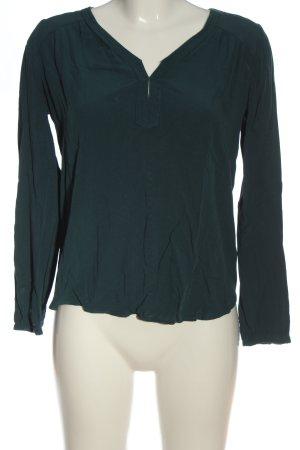 Esprit Schlupf-Bluse grün Casual-Look