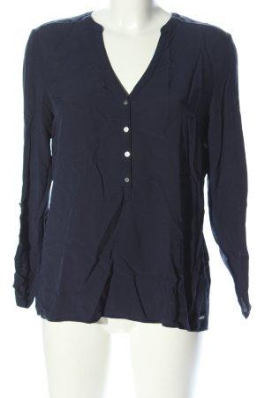 Esprit Schlupf-Bluse blau Business-Look