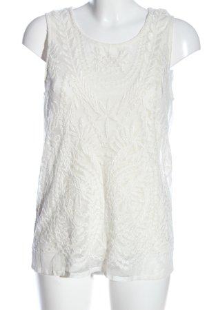 Esprit Schlupf-Bluse weiß klassischer Stil