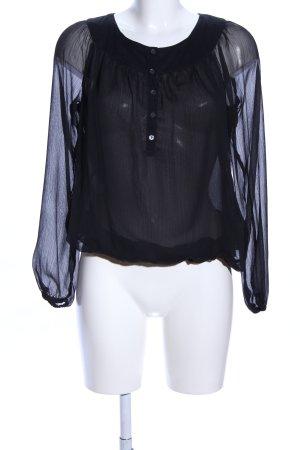 Esprit Schlupf-Bluse schwarz Elegant