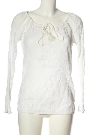 Esprit Schlupf-Bluse weiß-wollweiß Casual-Look