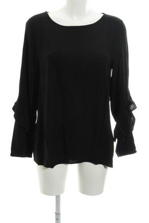 Esprit Schlupf-Bluse schwarz schlichter Stil