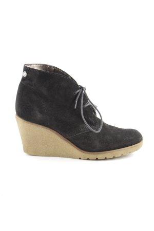Esprit Lace-up Pumps black leather