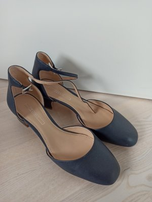 Esprit Strappy Ballerinas dark blue