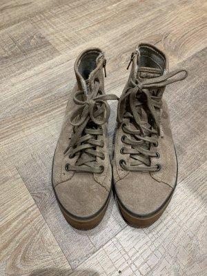 Esprit Lace-up Boots beige