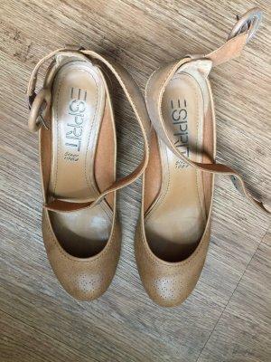 Esprit Schuhe Gr 38 braun