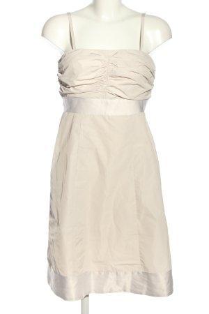 Esprit schulterfreies Kleid creme Elegant