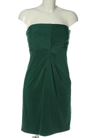 Esprit schulterfreies Kleid grün Casual-Look