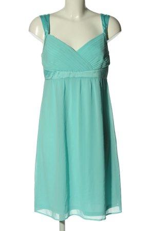 Esprit schulterfreies Kleid türkis Elegant