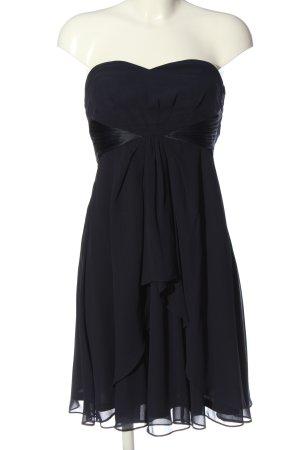 Esprit schulterfreies Kleid blau Elegant