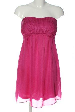 Esprit schulterfreies Kleid pink Elegant