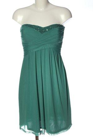 Esprit schulterfreies Kleid grün Elegant