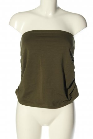 Esprit Off the shoulder top khaki casual uitstraling