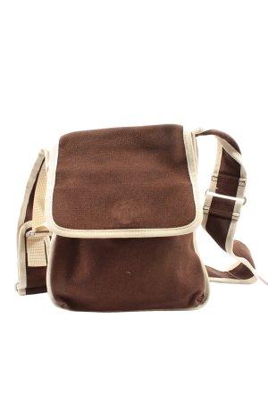 Esprit Shoulder Bag brown-cream casual look