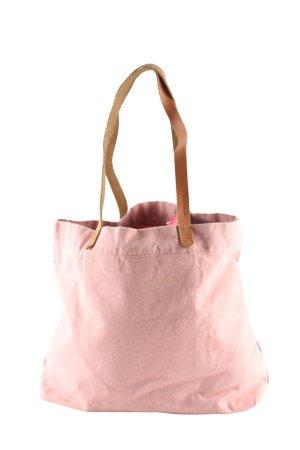 Esprit Schultertasche pink-braun Casual-Look