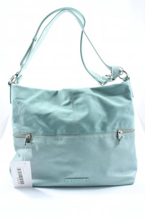 Esprit Shoulder Bag turquoise casual look