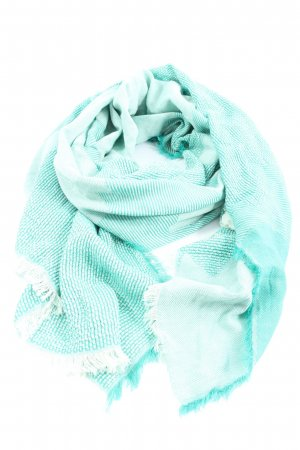 Esprit Shoulder Scarf turquoise-white flecked casual look