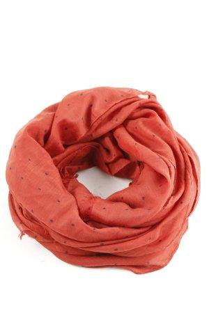 Esprit Shoulder Scarf red-black spot pattern casual look