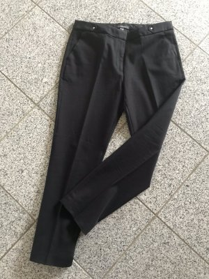 Esprit Pleated Trousers black cotton