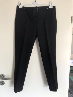 Esprit Pantalón tipo suéter negro Algodón