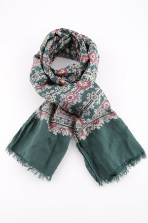 Esprit Silk Scarf abstract pattern casual look