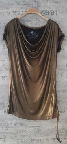 edc by Esprit Top tipo cascada color bronce-color oro