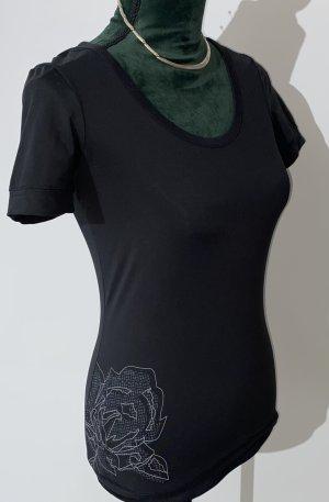 ESPRIT - Shirt - Funktions-Shirt - schwarz - Homewear