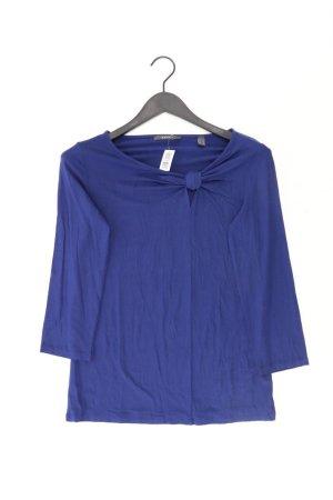 Esprit Shirt Größe L 3/4 Ärmel blau aus Viskose