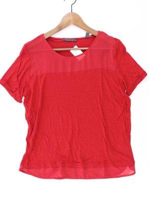 Esprit Shirt Größe L Kurzarm rot aus Polyester