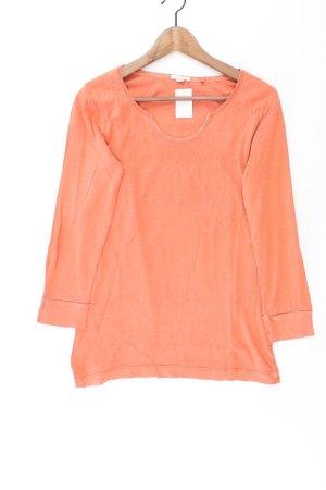 Esprit Shirt Größe L Langarm orange aus Baumwolle