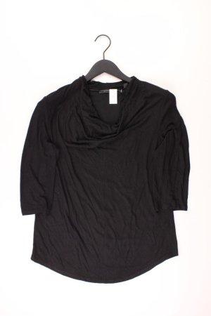 Esprit Shirt Größe M 3/4 Ärmel schwarz aus Viskose
