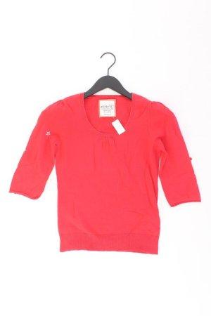 Esprit Shirt Größe S 3/4 Ärmel rot aus Baumwolle