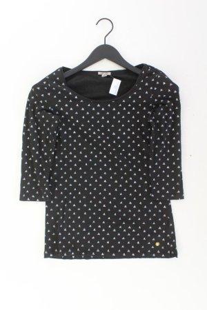 Esprit Shirt Größe S 3/4 Ärmel schwarz aus Baumwolle
