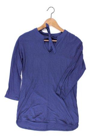 Esprit Shirt Größe XS 3/4 Ärmel blau aus Viskose