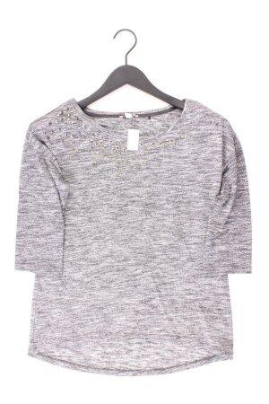 Esprit Shirt Größe XS 3/4 Ärmel mit Nieten grau aus Viskose