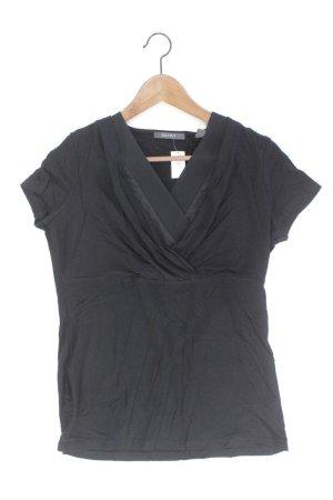 Esprit Camisa con cuello V negro Viscosa