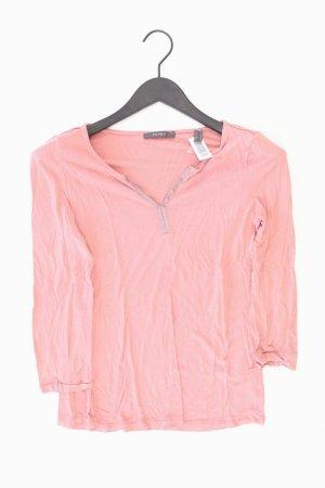 Esprit Shirt mit V-Ausschnitt Größe S 3/4 Ärmel mit Glitzer rosa