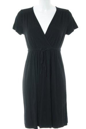 Esprit Vestido estilo camisa negro look casual