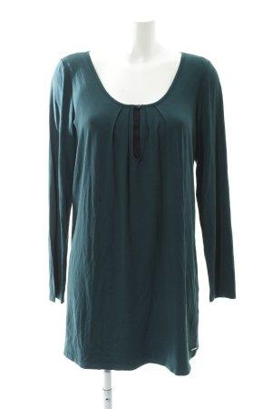 Esprit Shirtkleid dunkelgrün Casual-Look