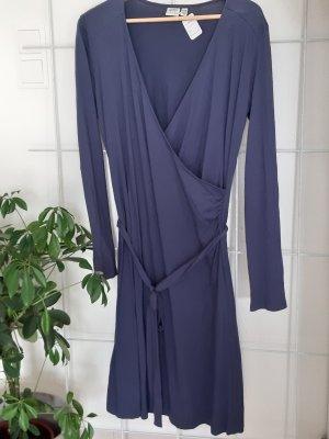 Edc Esprit Kopertowa sukienka stalowy niebieski