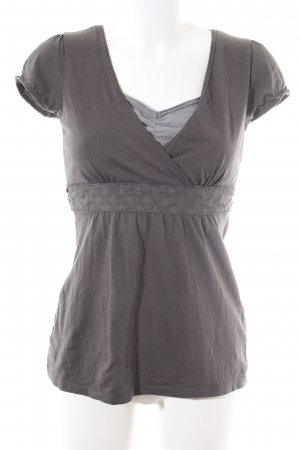 Esprit Shirt Tunic light grey graphic pattern casual look