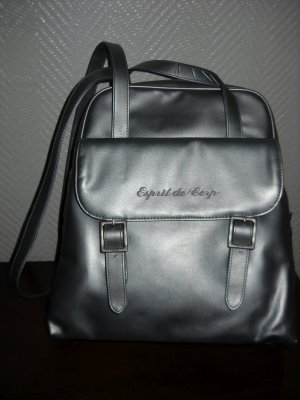 ESPRIT Shopper Henkeltasche Handtasche Schultertasche Bag Einkaufs Tasche silber