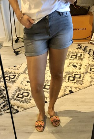 Esprit Pantaloncino di jeans antracite-grigio