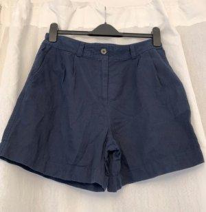 Esprit High waist short donkerblauw